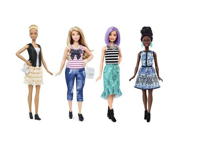 Куклы Барби получат новые, более реальные фигуры