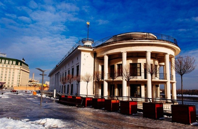 В здании Киевского речного вокзала появится первая в Украине ресторанная галерея