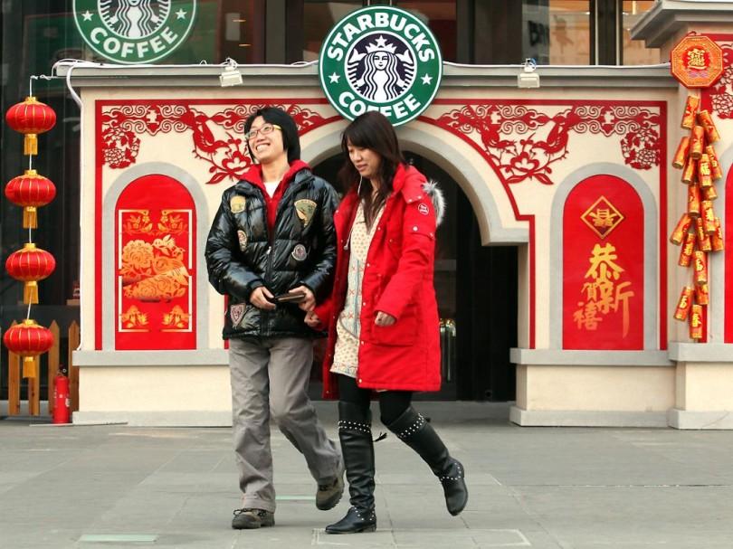 Как продавать кофе в чайной стране: Starbucks в Китае