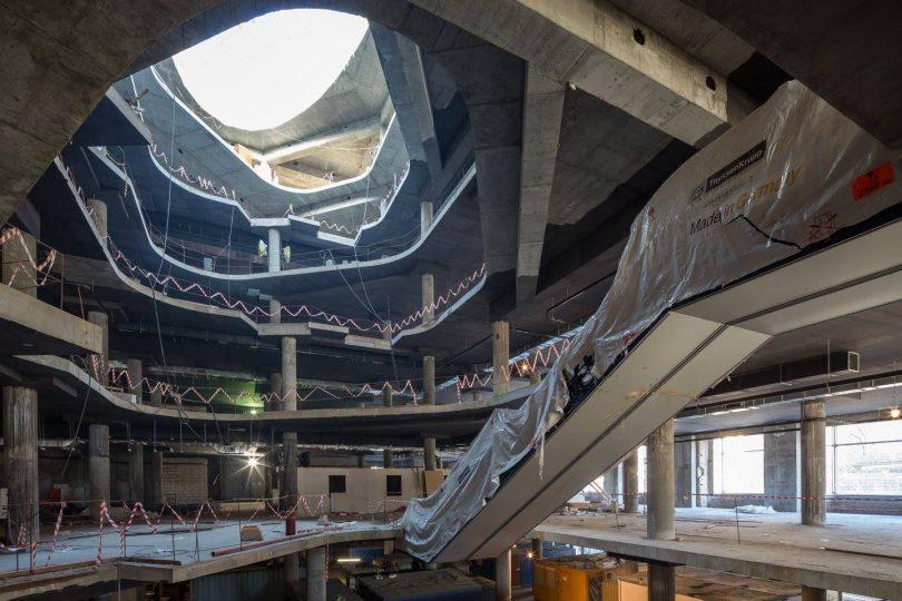 Большие стройки: ЦУМ отчитался о ходе работ по реконструкции