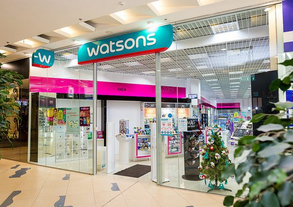 Сеть Watsons пополнилась двумя магазинами