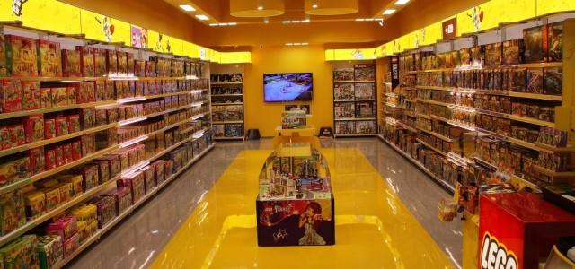 Монобрендовый LEGO открылся в киевском «Караване»