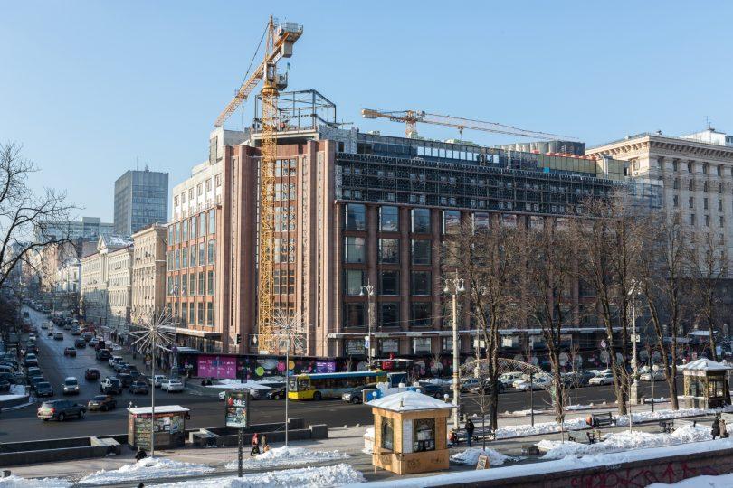Киевский ЦУМ: около 60% площадей ЦУМа уже сданы в аренду
