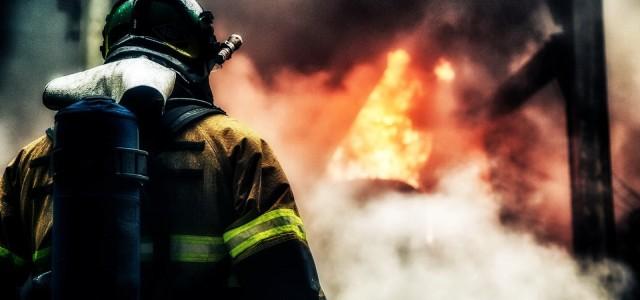 В Ужгороде горит универмаг «Украина»
