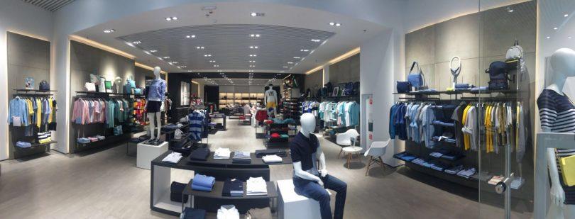 Как выглядит флагманский бутик Lacoste в Ocean Plaza (фото)