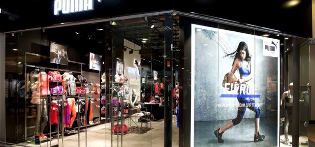 В харьковском ТРЦ Караван открылся магазин Puma