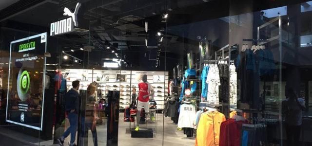 Puma открыла в ТЦ Forum Lviv магазин в новом концепте
