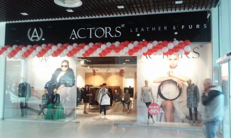 Магазин сети Actors открылся в черниговском ТРЦ Hollywood