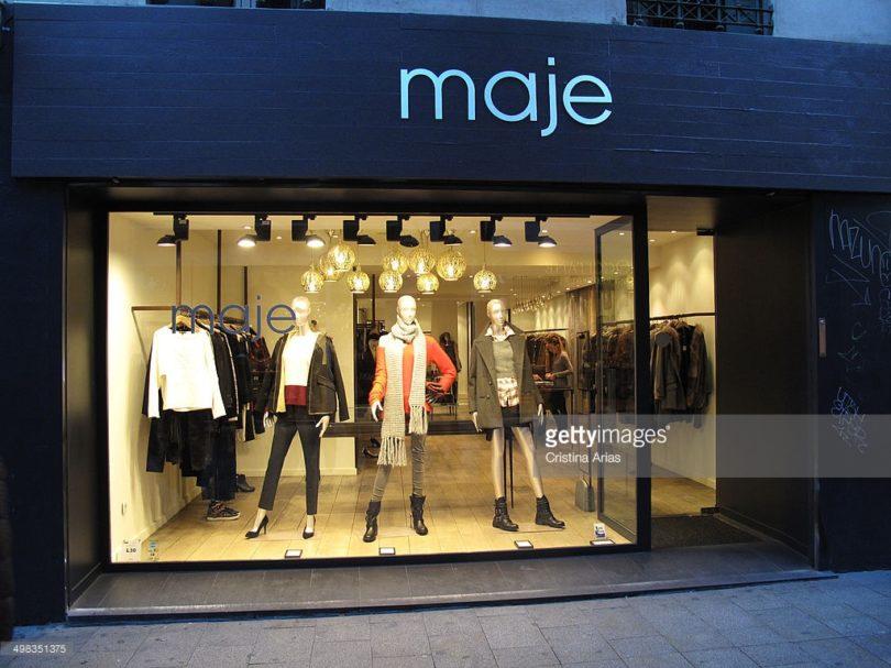 В Украину идет французский бренд Maje