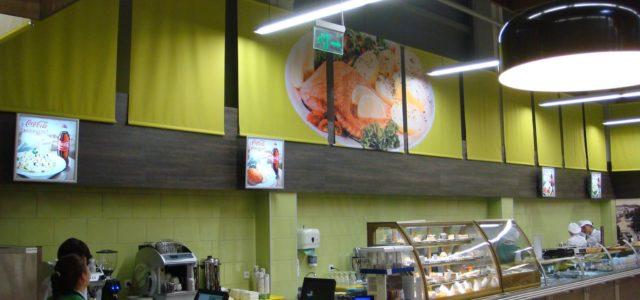 Как выглядит новое кафе в сети супермаркетов NOVUS