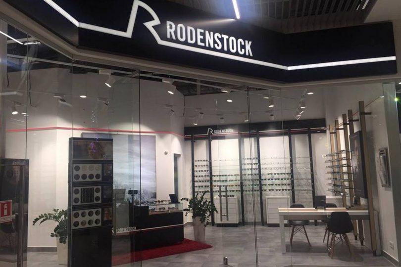 В ТРЦ Gulliver открылась первая в Украине концепт-оптика Rodenstock