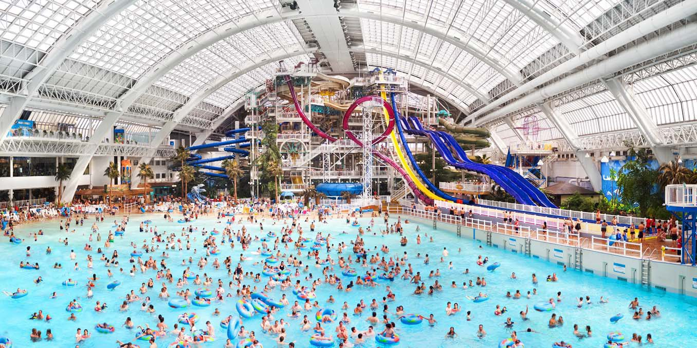 An artists' rendering shows the redesign of the water park aarea of the West Edmonton Mall in this handout photo. THE CANADIAN PRESS/HO