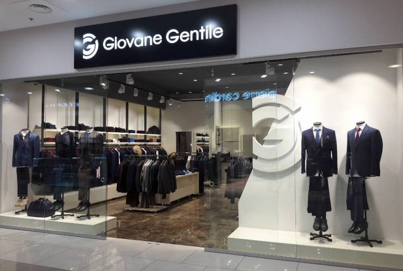 Второй магазин мужской одежды Giovane Gentile в Киеве открылся в ТРЦ Gulliver