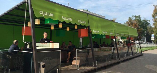 Сушия открыла первый ресторан в Полтаве