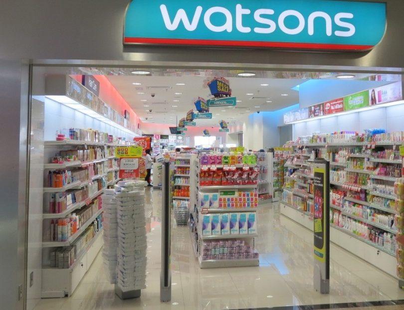Сеть Watsons обратилась к властям с требованием не закрывать магазины drogerie