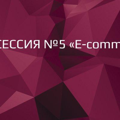 П'ята сесія RDBS-2016: «E-commerce»