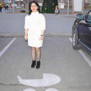 В запорожском ТРК City Mall появились специальные парковки для родителей