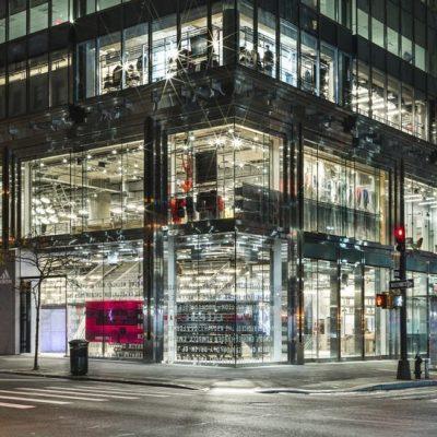 Як виглядає новий гігантський магазин Adidas на Мангетені (+фото)