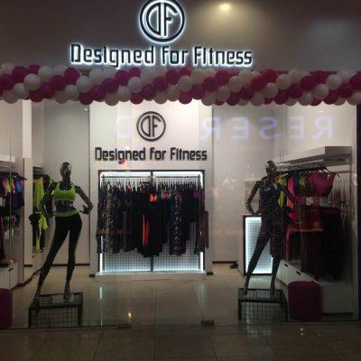 Магазин Designed for Fitness відкрився в харківському ТРЦ Караван