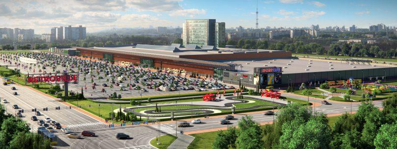 Якірним орендарем в столичному ТРЦ і БЦ Retroville буде будівельний гіпермаркет Leroy Merlin