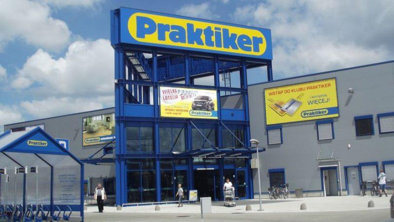 Cеть Praktiker закрылась в Украине