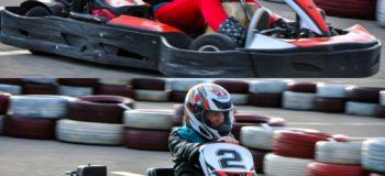 Около ТРЦ Караван в Киеве открылся картодром Crazy Karting