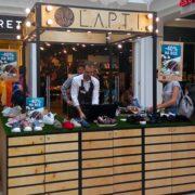 Украинский бренд L. A. P. T. I. открыл островок в ТЦ Globus