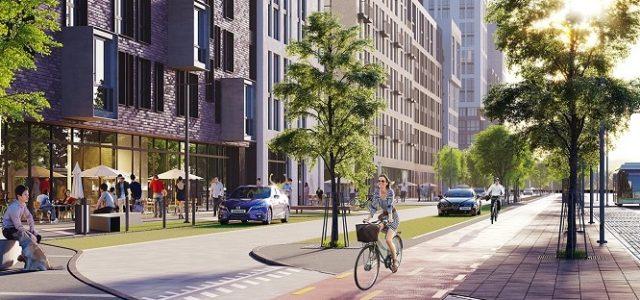 К.А.Н. Девелопмент побудує торговий центр у складі ЖК Файна Таун