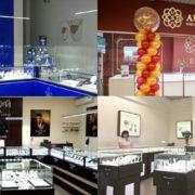 Обзор новых ювелирных магазинов: КЮЗ, Brilliant, Золотой Век, KSD AURUM и другие
