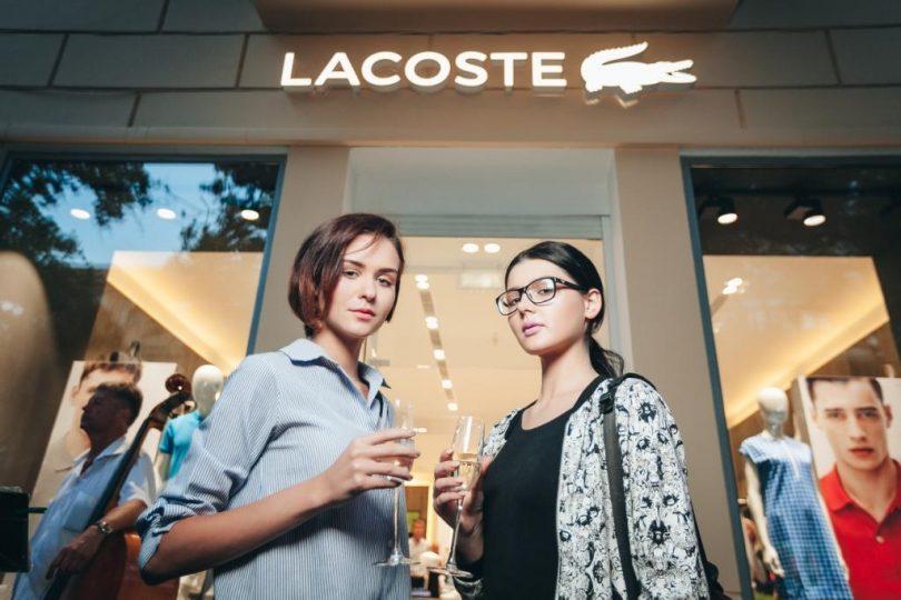Lacoste впервые открыл магазин в Украине в формате street-retail (+фото)