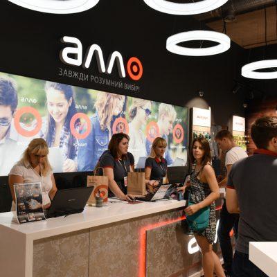 Мережа магазинів гаджетів та електроніки Алло розширилася до 340 торгівельних точок