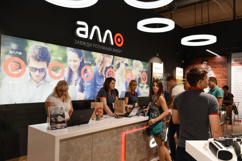 Сеть магазинов гаджетов и электроники Алло расширилась до 340 магазинов