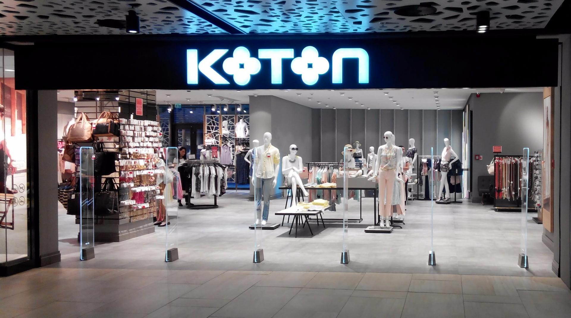 the large international chain of clothing stores koton