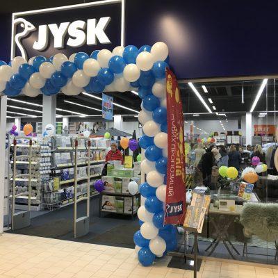 JYSK открыл четвертый магазин в Днепре — в ТРЦ Приозерный