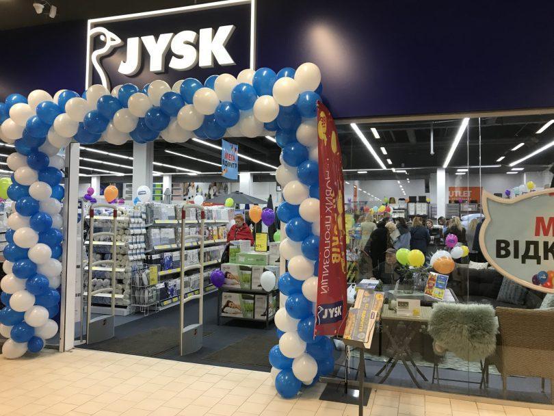 JYSK відкрив четвертий магазин у Дніпрі – в ТРЦ Приозерний