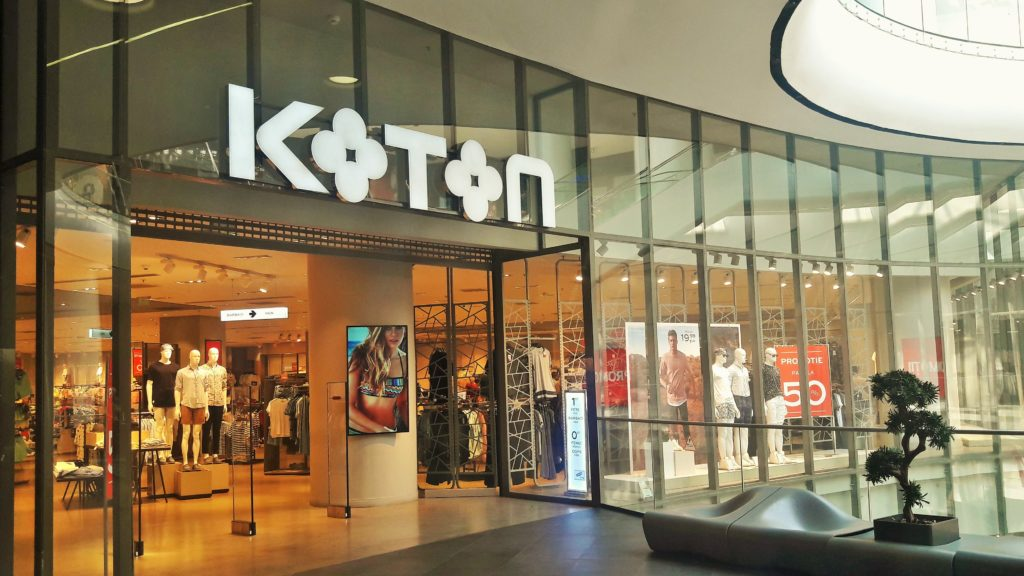 The Turkish Brand Koton First Store Opened In The Sec Lavina Mall