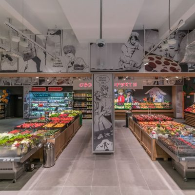 Сільпо по-японськи  як виглядає новий супермаркет мережі в стилі коміксів  манга (фото 92cc8474b9532