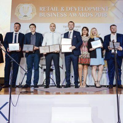 Фоторепортаж з Retail&Development Business Awards 2018: переможці, експерти, гості і багато іншого