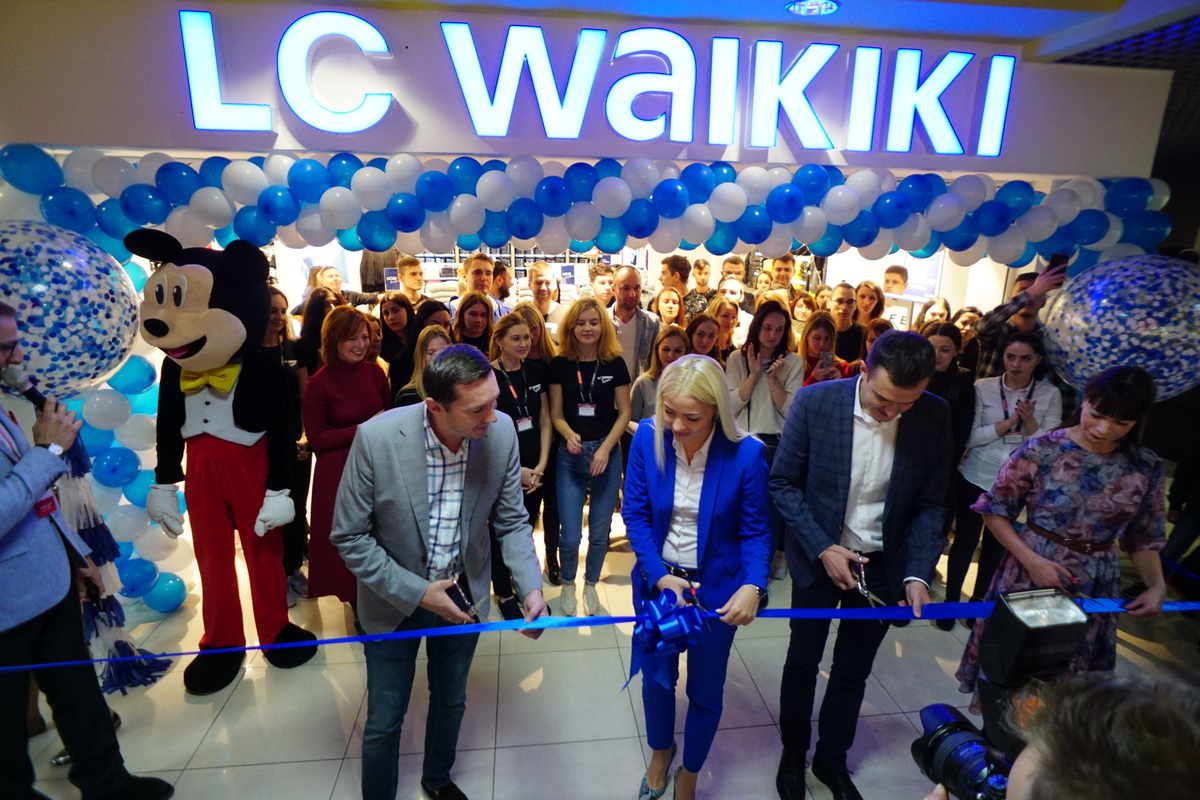 Юбилейный 30-й LC Waikiki в Украине открылся в ровенском ТРЦ Злата Плаза  d9c90ff87e538