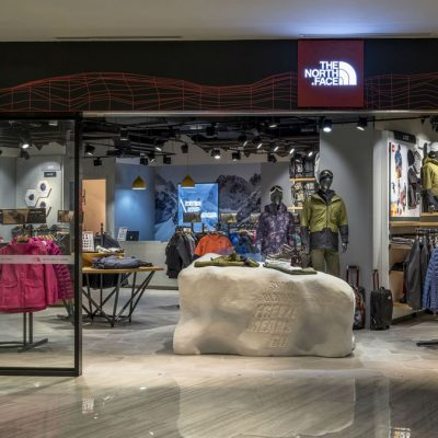 Intertop officially entries Ukraine a new brand – The North Face