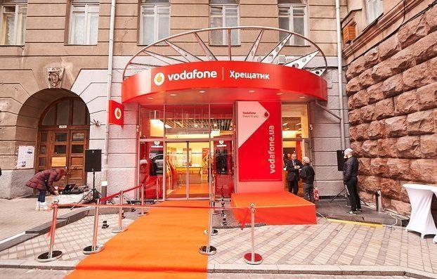 Vodafone расширил сеть собственных магазинов до 200 торговых точек