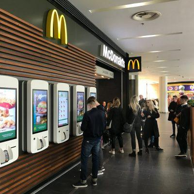 McDonald's With The Experience Of The Future New Concept Recently Opened In Forum Lviv SC
