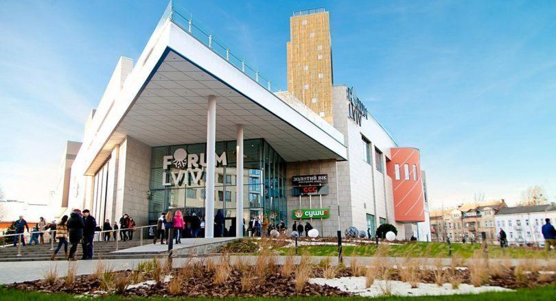 First FLO store in Western region in Forum Lviv SC