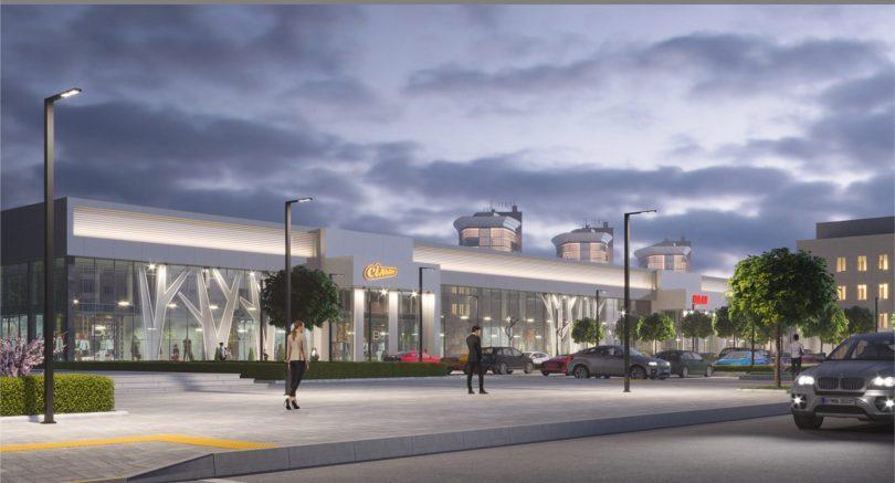 Якорными арендаторами нового ТЦ в Житомире станут строительный гипермаркет OLDI и Сільпо