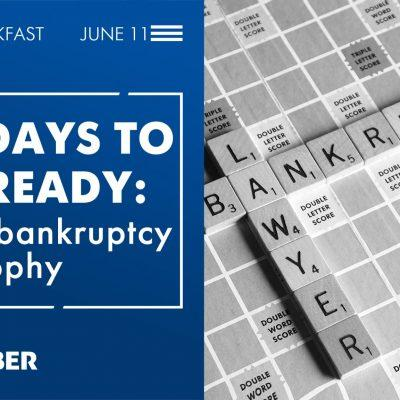 """170 days to get ready: a new bankruptcy philosophy"", business breakfast by ADER HABER"