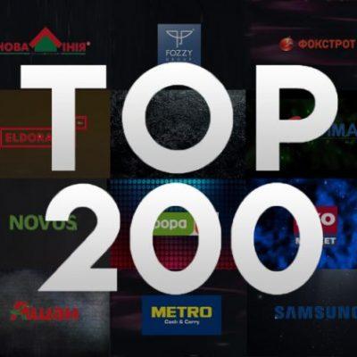 Топ-200: рейтинг рітейлерів України за доходами, прибутком або збитком