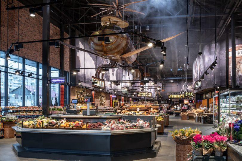 Три маркета Сільпо вошли в топ-25 европейских магазинов по инновационному дизайну