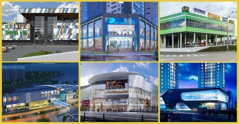 Огляд торговельної нерухомості Києва за ІІІ квартал 2019-го: масштабні реформати, нові об'єкти, стабільні ставки
