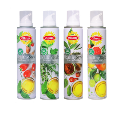 Перша українська соняшникова олія-спрей Healthy Style – інноваційний продукт від Olkom