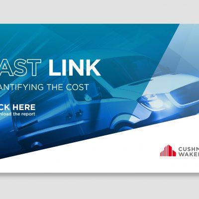 """Аналітика Cushman&Wakefield: витрати на доставку """"останньої милі"""" складають 50% загальних витрат ланцюжка поставок"""